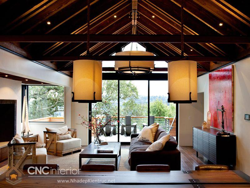 thiết kế nội thất phong cách Á Đông 5