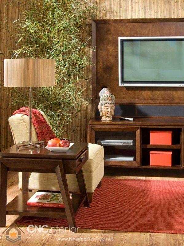 thiết kế nội thất phong cách Á Đông 6
