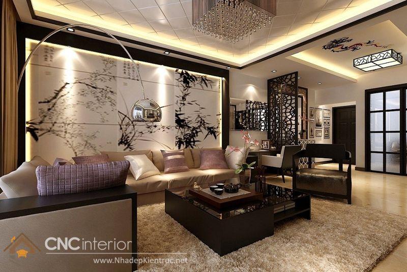 thiết kế nội thất phong cách Á Đông 11