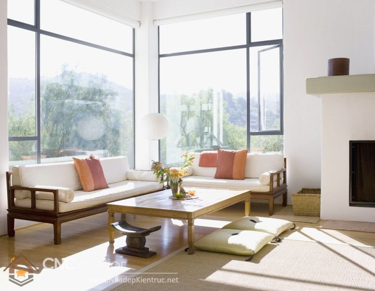 thiết kế nội thất phong cách Á Đông 15