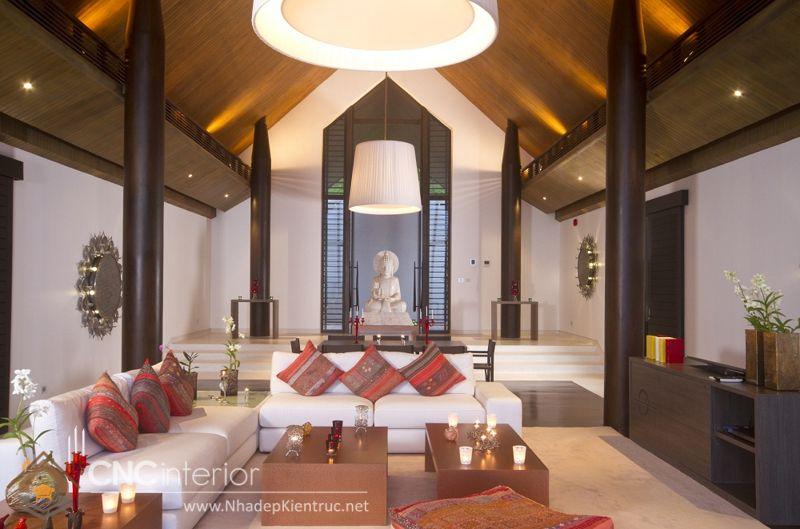 thiết kế nội thất phong cách Á Đông 4