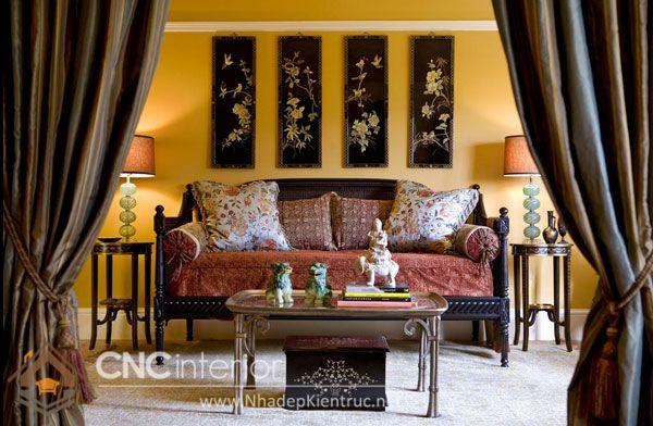 thiết kế nội thất phong cách Á Đông 9