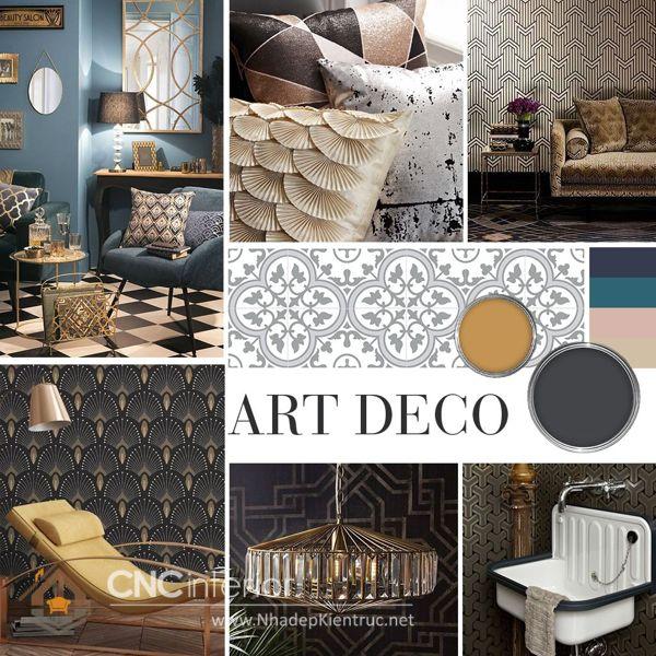 phong cách nội thất Art Deco 1