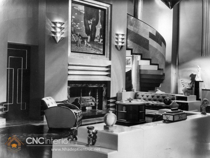 phong cách nội thất Art Deco 3