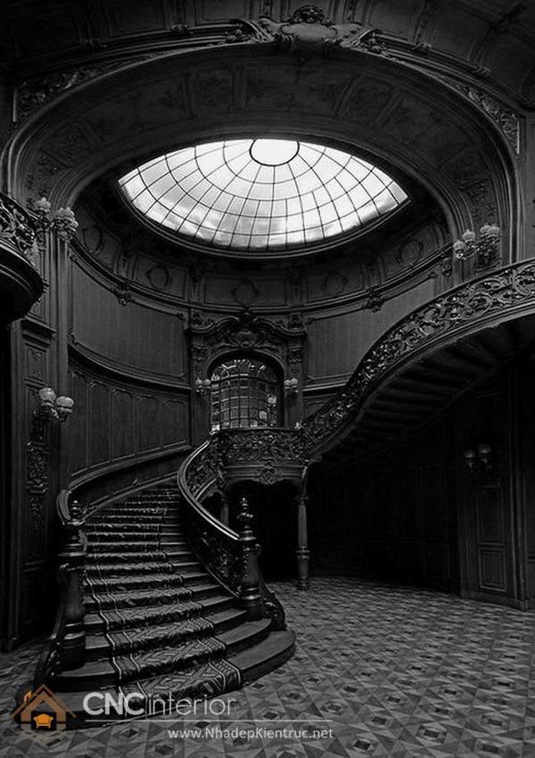 phong cách Gothic trong nội thất 6