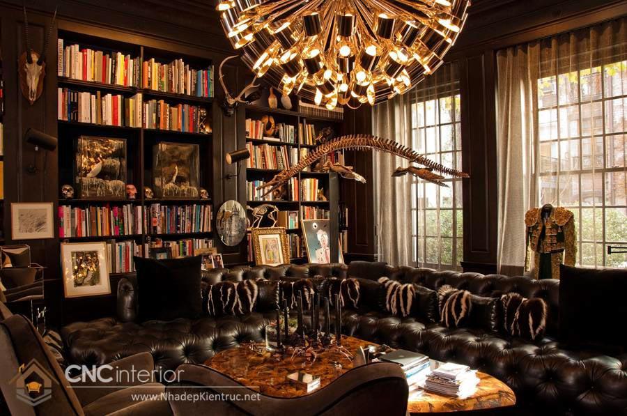 phong cách Gothic trong nội thất 1