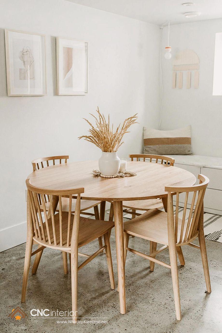 mẫu bàn ăn tròn 5