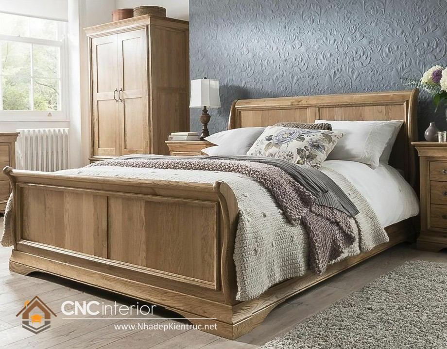 Giường mang phong cách Neoclassic 15