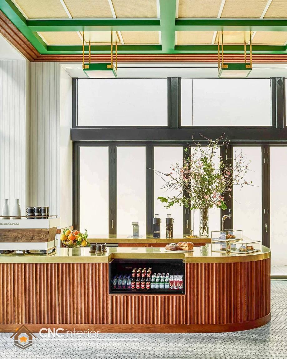 quầy cafe gỗ 10